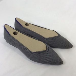 Rothy's grey cloud point / size 9, never worn!